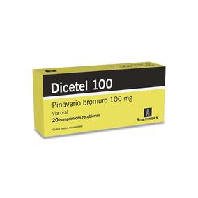Dicetel 100 Mg X 20 Comprimidos Recubiertos