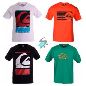 Kit 5 Camisa Camiseta Masculina Estampada De Marca Atacado