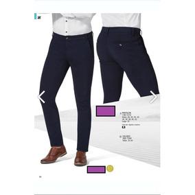 Pantalon Vestir P/caballero Ferrato 139-1510 Elegante Slim