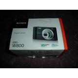 Camara Digital Sony W800 20.1 Megapixeles Color Negro Nueva