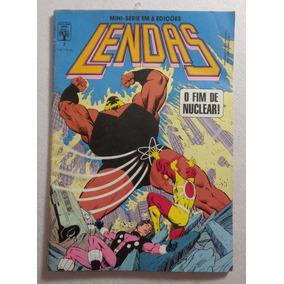 Revista Quadrinhos Heróis Lendas O Fim De Nuclear