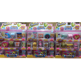 Shopkins Shopper Pack 8 Shopkins En 8 Mini Packs 100% Nuevo