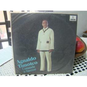 Lp Agnaldo Timóteo 1969 - Comanda O Sucesso