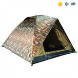 Barraca Camping Jungle Camufla 6 Pessoas 1500mm Frete Grátis