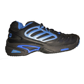 Tenis Wilson Wr5313260 - Negros Con Azul