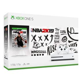 Console Xbox One S 1 Tera Nba 2k19 Lançamento Nota Fiscal
