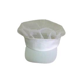 Touca Branca Para Padaria Toucas - Acessórios da Moda no Mercado ... 490baf2de12