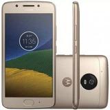 Original Motorola Moto G5 16gb Xt1677 Dual S/ Juros Dourado