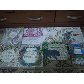 Kit 40 Livros Para Colorir À Sua Escolha - Imperdível!!!