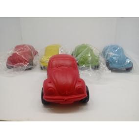 Kit 10 Miniatura Fusca Fusquinha Plástico Colorido