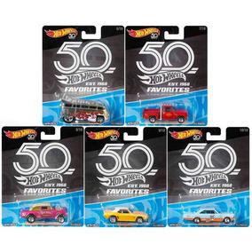 Hot Wheels 50 Years Favorites Favoritos 50 Anos 5 Carrinhos