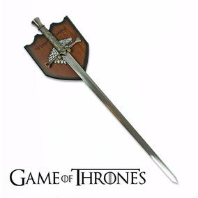 Espada Game Of Thrones Arya Stark Aço Inox 440 + Suporte