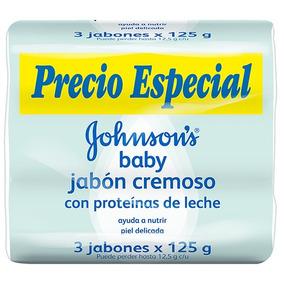Johnsons® Baby Jabón Enbarra Con Proteínas De Leche X3 Uni