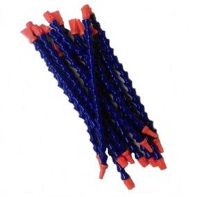 Mangueira Flexível Articulada 1/4 Para Torno Kit 2 Pçs