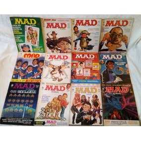 Coleção 101 Revistas Mad Record Incluindo Especiais E Mais