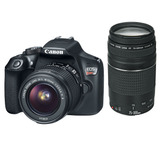 Canon Eos Rebel T6 Kit Con 18-55mm Y 75-300mm - (ml)