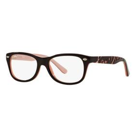bf10d6d218c2c Armacao Oculos Rayban Preto E Rosa - Óculos no Mercado Livre Brasil