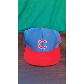 Gorra Marca Logo 7 Cachorros De Chicago Cubs Snapback Retro 745c5d15a0f