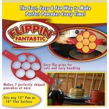 2 Flippin Fantastic Molde Hot Cakes Molde Silicón Sin Caja