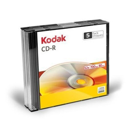 10 Cd-r Slim Kodak 52x 700bm 80m