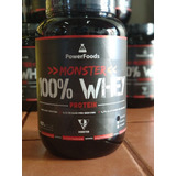 Monster 100% Whey Protein - 907g - Powerfoods