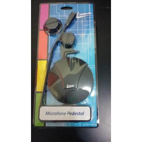 Kit 2 Microfone Pedestal Leadership