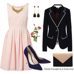 Lindo Vestido Elegante Evangelica E Executiva Cod#aa+