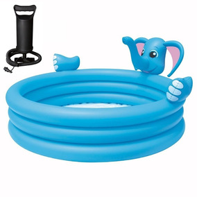 Pileta Inflable Elefante Niños Bestway + Inflador Toymania