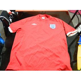 Camiseta Vieja Roja Inglaterra Talla Xl Consult Stock
