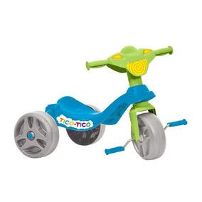 Triciclo Tico Tico Bandeirante 650 Azul Azul