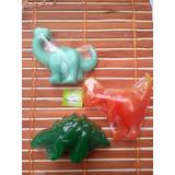 Dinosaurios En Jabón Para Bebés, Aromas Y Colores A Escoger