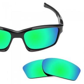 7a1812574ef55 Culos De Sol Oakley Chainlink Iridium Unissex Verde - Óculos no ...