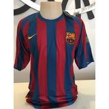Camisa Ronaldinho Barcelona - Futebol no Mercado Livre Brasil 45fd4ce6cc540