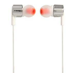 Fone De Ouvido In Ear T210 Prata Jbl