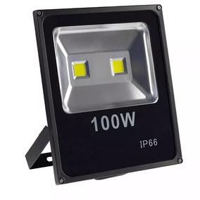 Refletor Led Holofote 100w Bivolt Ip65 Branco Frio