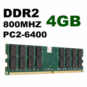 Memória 4gb Ddr2 800mhz Pc2-6400 Original Hynix Kingston Amd