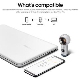 Samsung Engranaje 360 Real 4k Vr Cámara Vídeo 2017 Edició