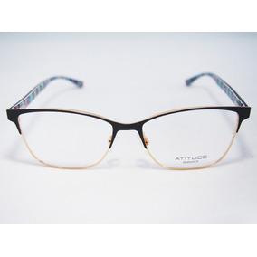 Armação Para Óculos Atitude Feminino At1627 Original Nfe · 2 cores. R  170 512ead3d61