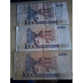Dinheiro Antigo 1000 Mil Cruzados Machado De Assis