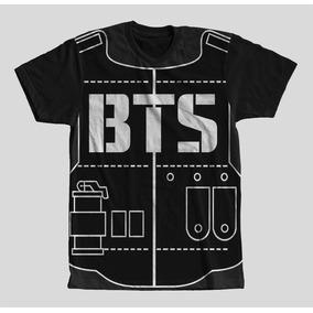 Camisa Camiseta Infantil Colete Bts Army Masculino Full