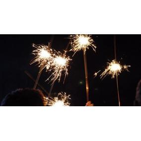 100 Luces De Bengala P/todo Tipo De Evento Posadas 100cm