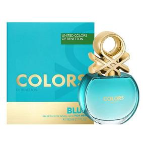Colors Blue - Benetton - 80ml - Eau De Toilette - Mujer