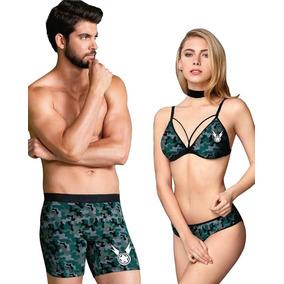 Bralette Bikini Boxer Vicky Form Lenceria Sexy Pareja Milita