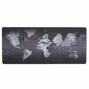 Mouse Pad Grande Personalizado Mapa Mundo Gamer 900x400