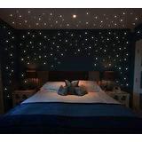 1000 Estrellas Fluorescentes Color Rosa