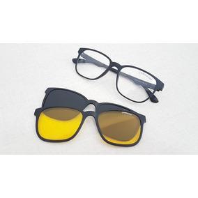 Oculos Clip On Redondo Arredondado Magnetico Sol Polarizado. 11 vendidos -  São Paulo · Armação Oculos De Grau Com 2 Clipons Magneticos Oxfour Lux b4b2b9b126