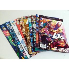 Lja - Liga Da Justiça - Série Completa 1 A 10 - Panini