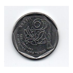 Moeda Fao 25 Centavos 1995