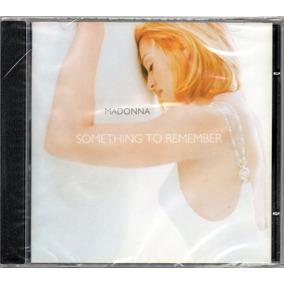 Madonna Cd Something To Remember Novo Lacrado Original