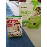 Instax Mini 9 Lime Green + 10 Sheets